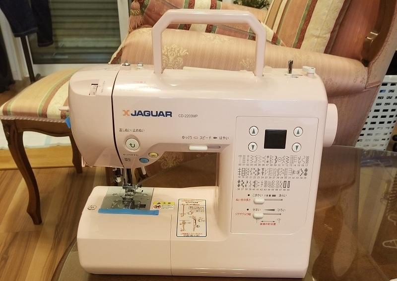 ジャガー コンピューターミシン JAGUAR CD-2203 MP