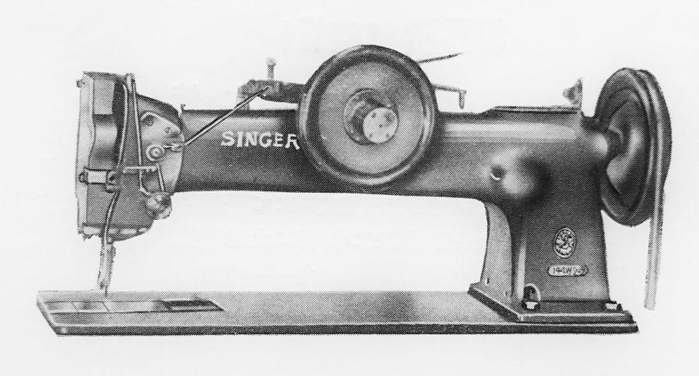 Singer 144W102:1本針本縫厚物縫ミシン