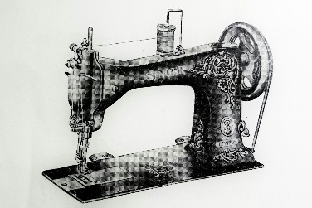 singer 12W205:1本針極厚物用本縫ミシン
