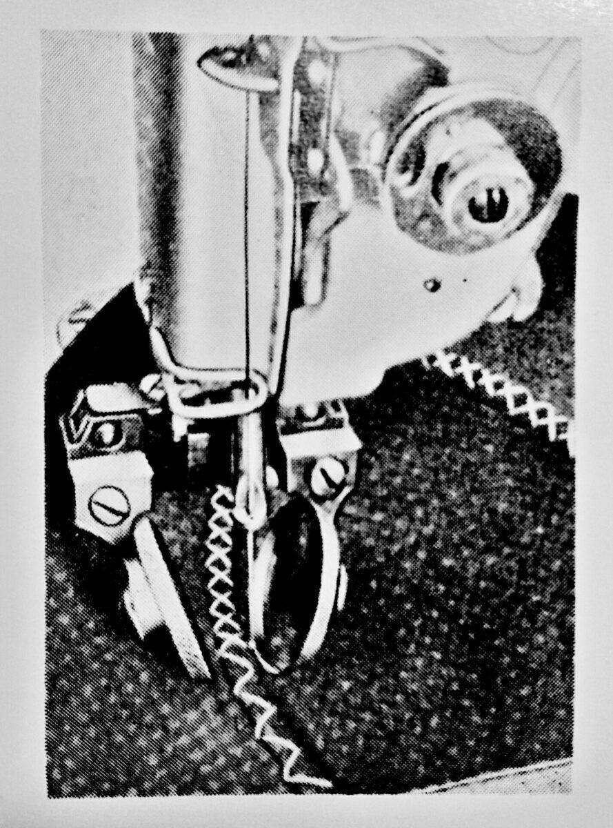 pfaff 38-10-254:1本針ジグザグ本縫ミシンの縫見本