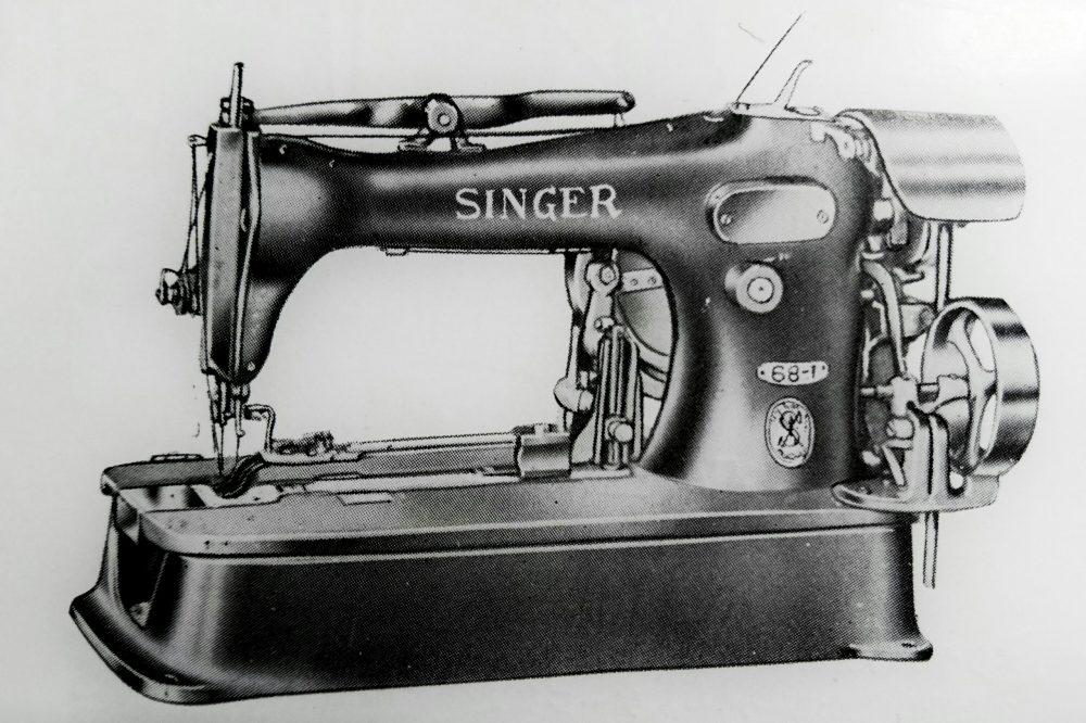 singer 68-1:ボタン縫付用ミシン