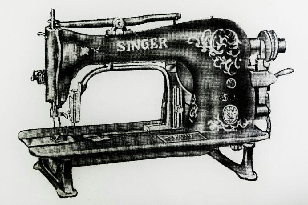 singer 68-9:本縫平紐類縫付ミシン