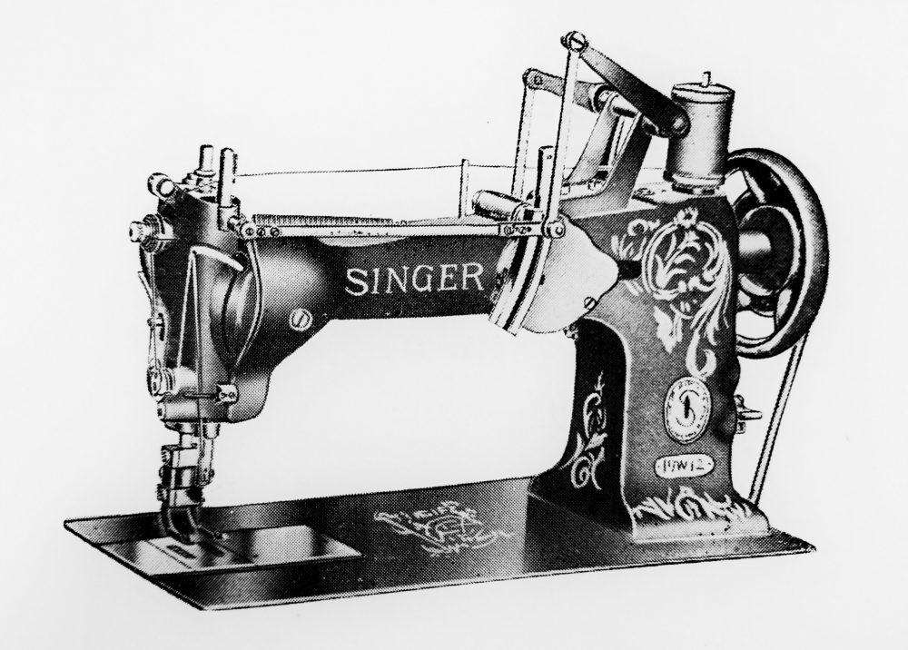 singer 17W2:1本針刺繍用ミシン