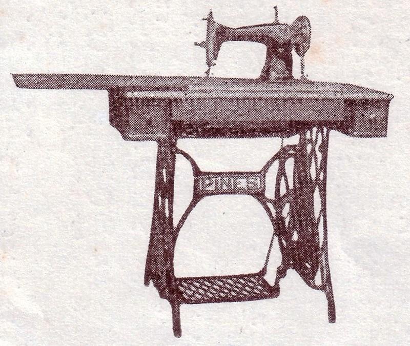 ジャノメミシン(当時パインミシン)が1929年に開発した足踏式式ミシン第100種30号