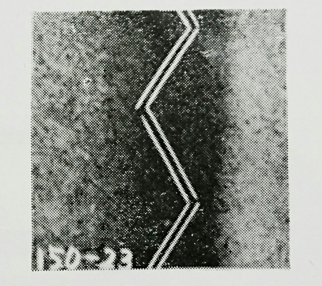 ルイス 105-23(躾縫ミシン)の縫見本