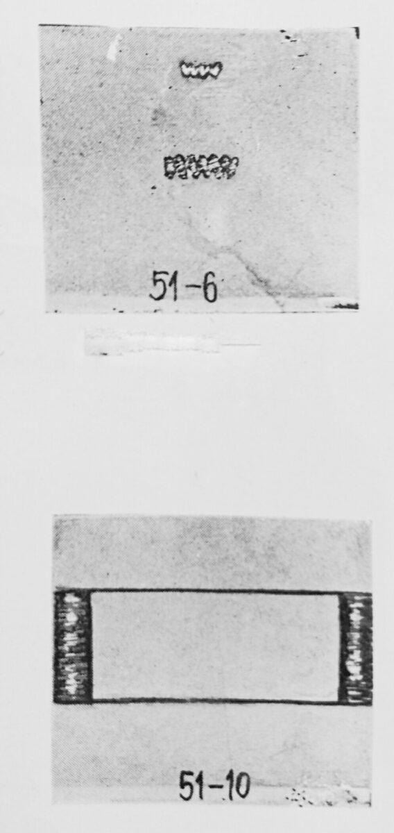 シンガー 51-6 と シンガー 51-10(閂止ミシン)