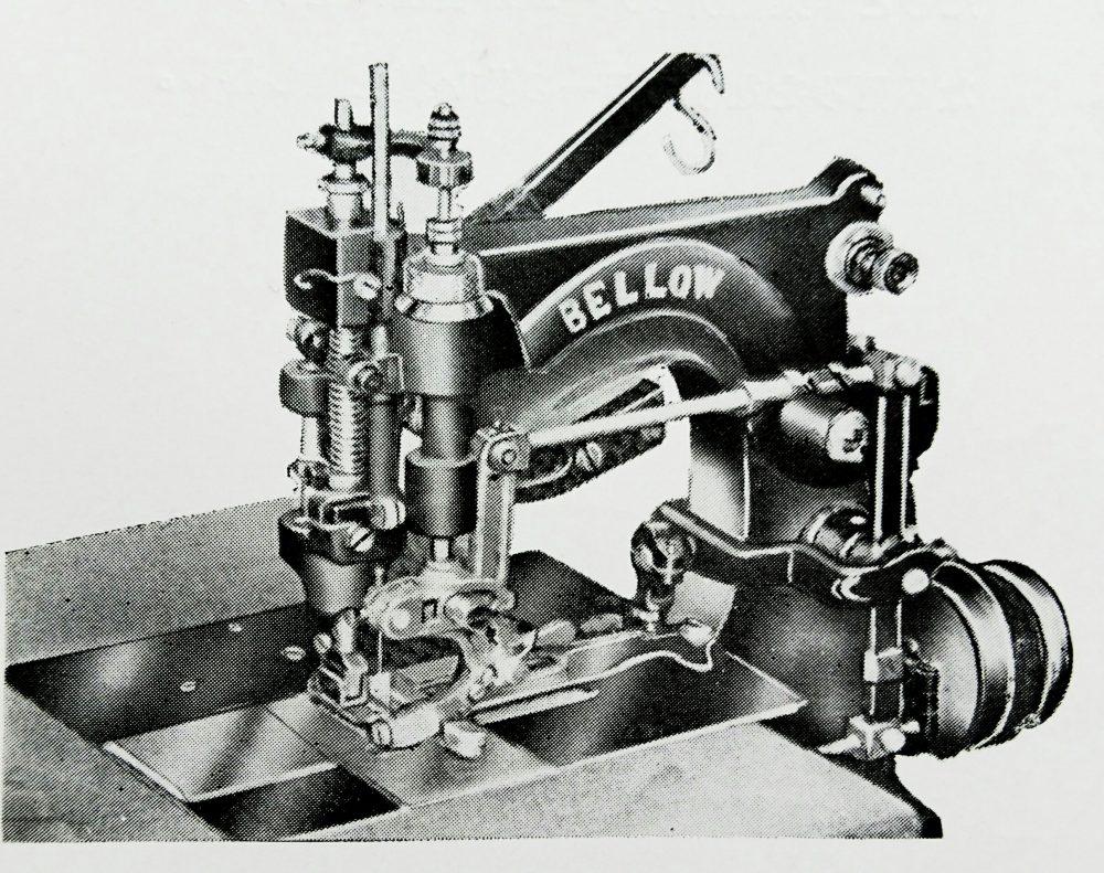 ベロー 躾縫ミシン