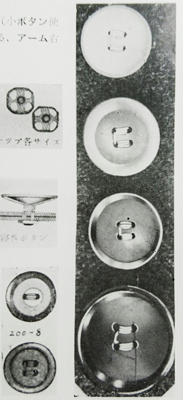 ルイス 200 シリーズのボタンつけサンプル