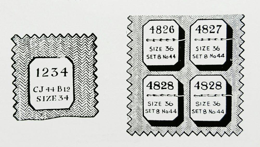 チケット縫と印刷兼用機のサンプル