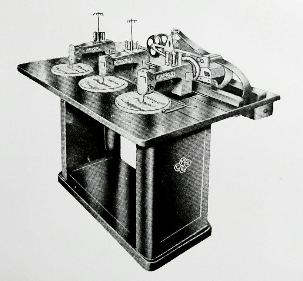 ツァングス 1340:3頭自動刺繍ミシン