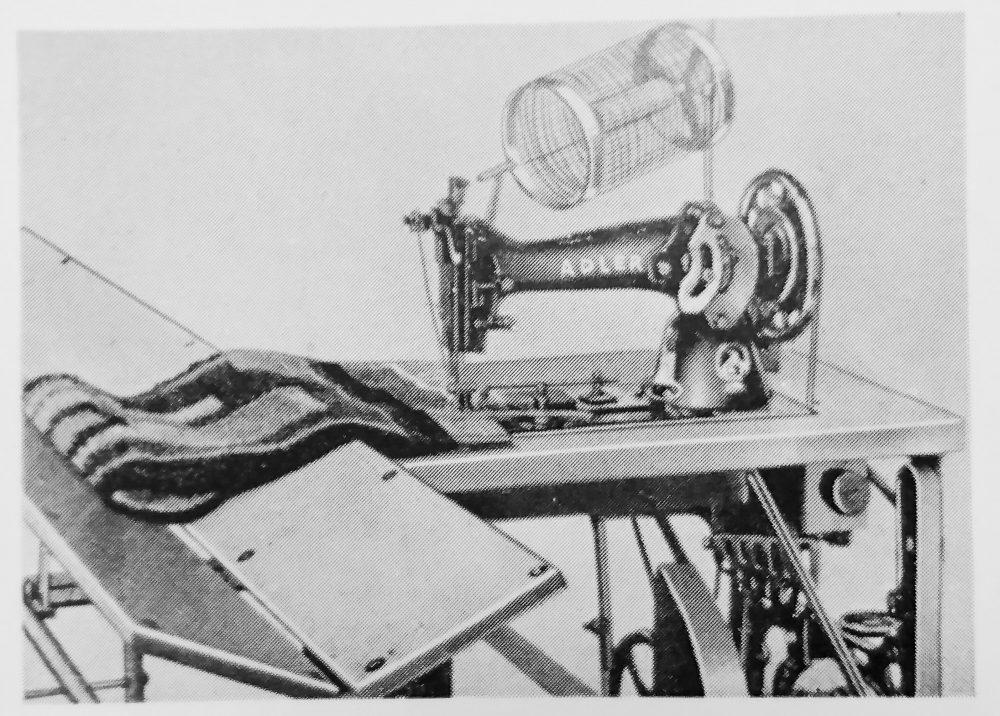 アドラー 4シリーズ:1本針平型本縫ミシン