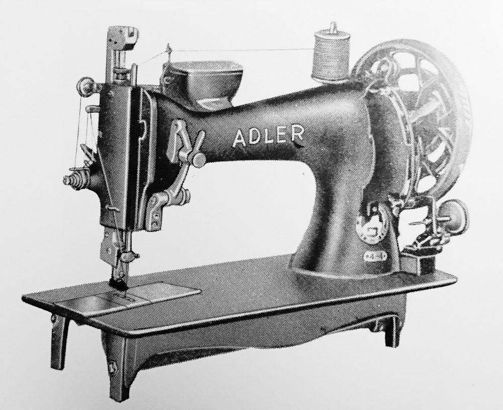 アドラー 4-4:1本針平型本縫ミシン