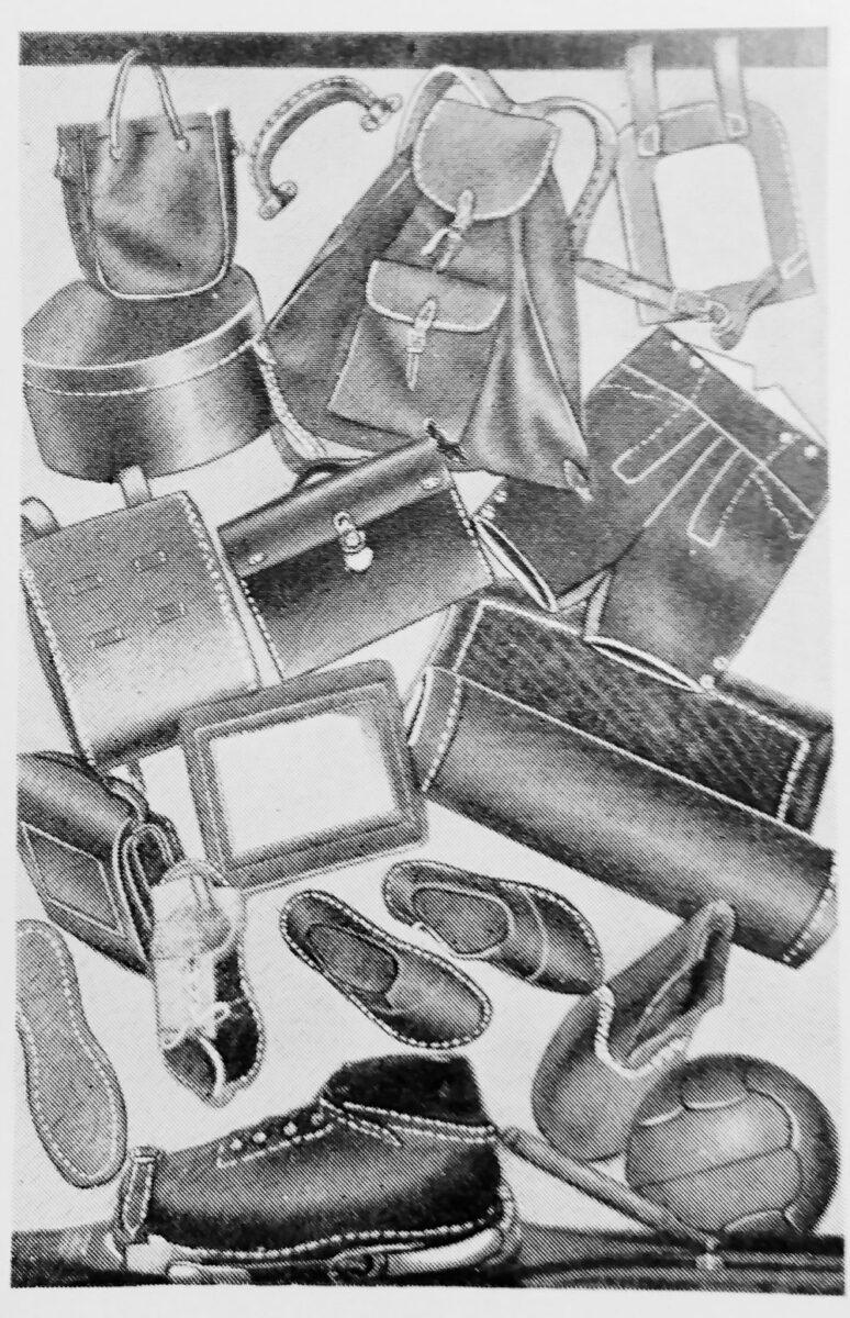 アドラー 4シリーズ(1本針平型本縫ミシン)で縫った製品例