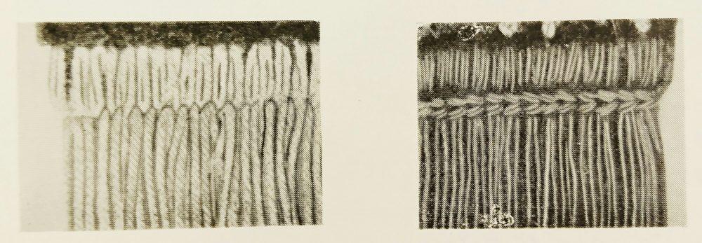 アドラー 4シリーズ(1本針平型本縫ミシン)の縫見本