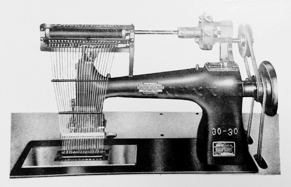 サークル:24本針環縫ミシン