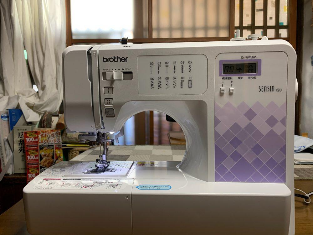 これから先も趣味はミシン!:ブラザー Sensia 120 CPV7203