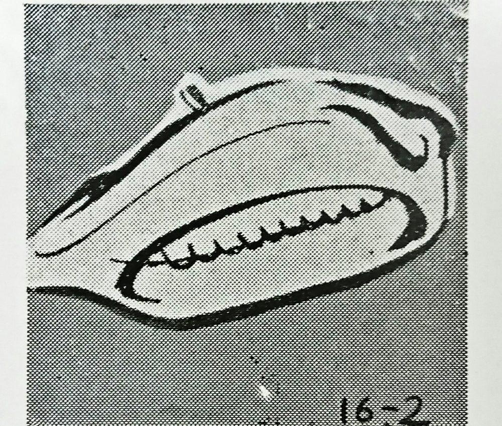ストローベル 16-2(奥まつい縫い)の縫見本