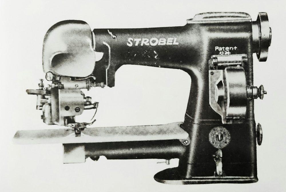 ストローベル 24H:ズボンの折り目つけ用ほし縫ミシン