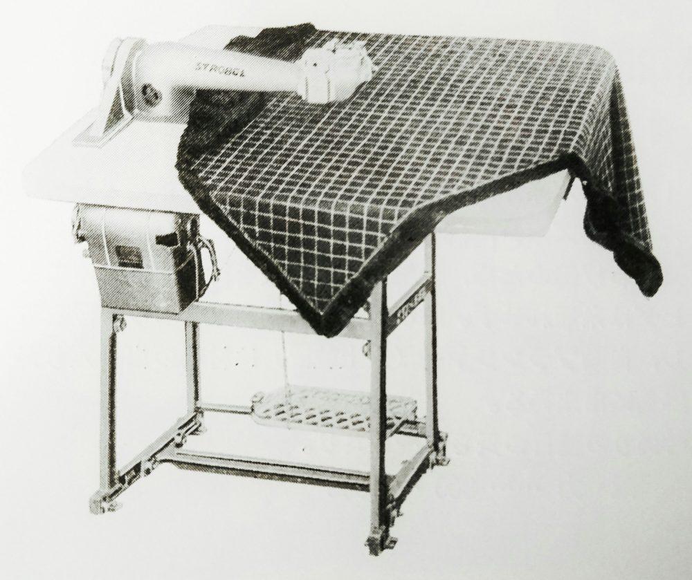 ストローベル 43k3:毛皮コートの裏地の刺縫ミシン