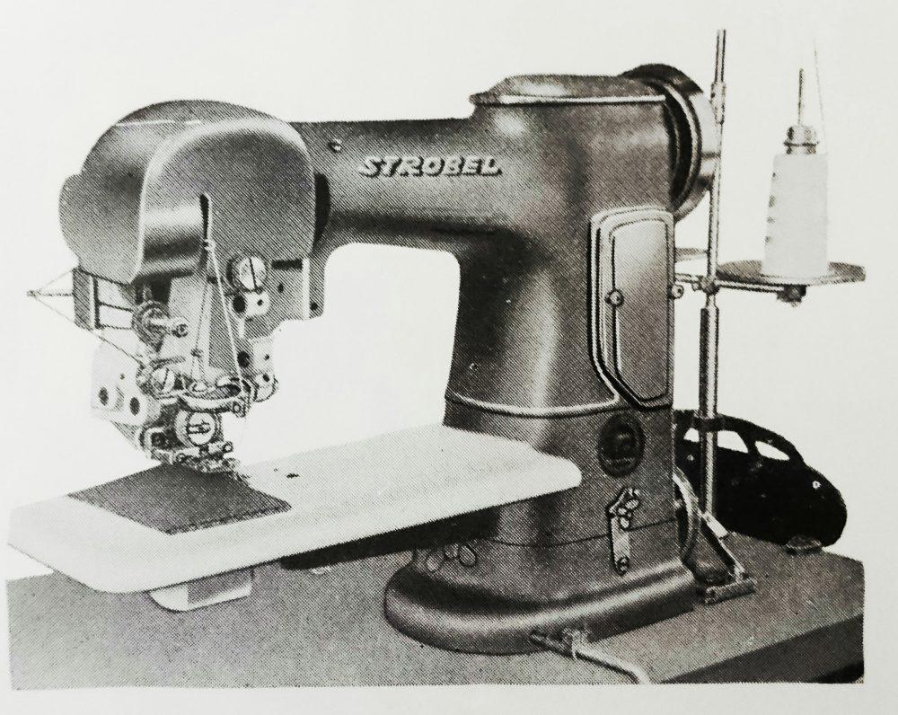 ストローベル 25:ポケット縁取り用ミシン