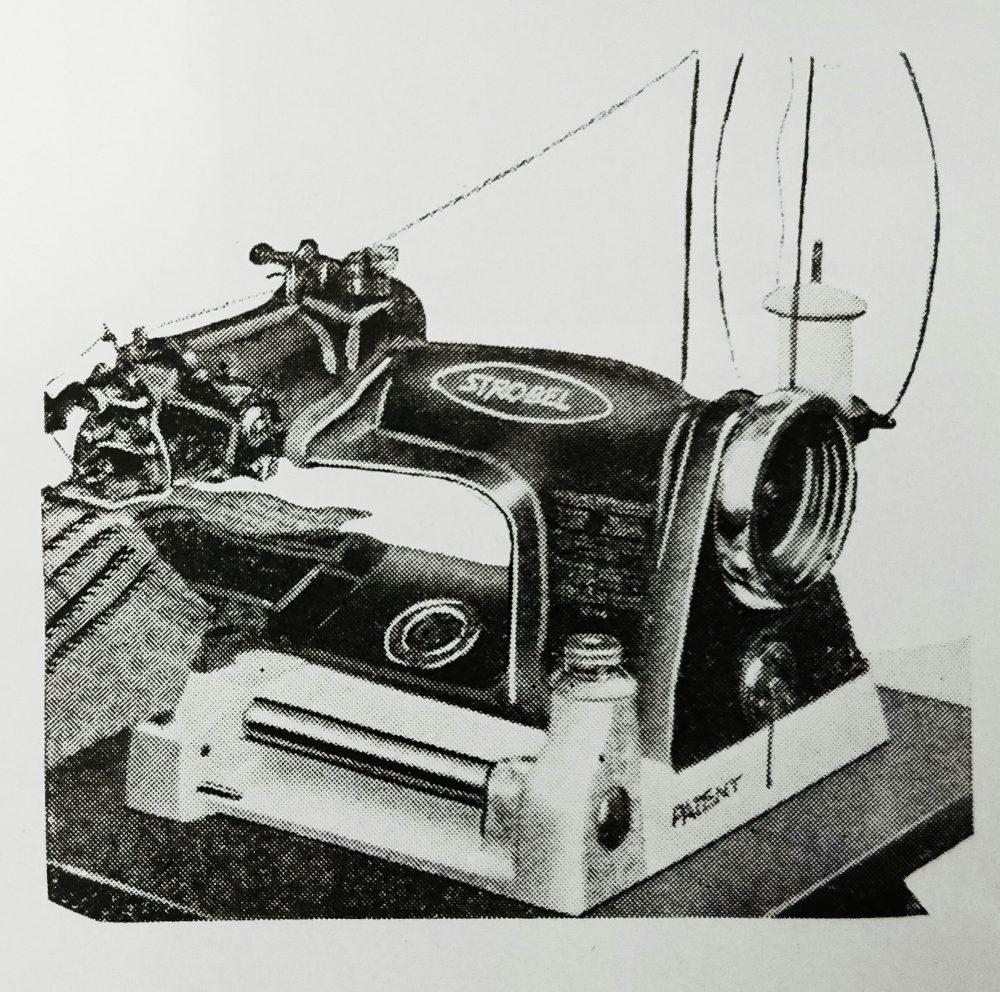 ストローベル 44-2-N:一般襟刺用(八刺)掬い縫ミシン