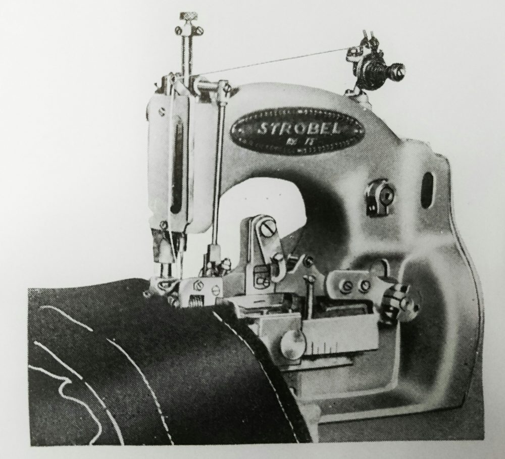 ストローベル 130-KR:しつけ縫(もみ出し)ミシン