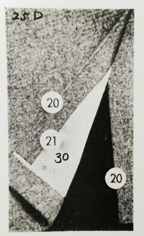 ストローベル 25Dの縫見本