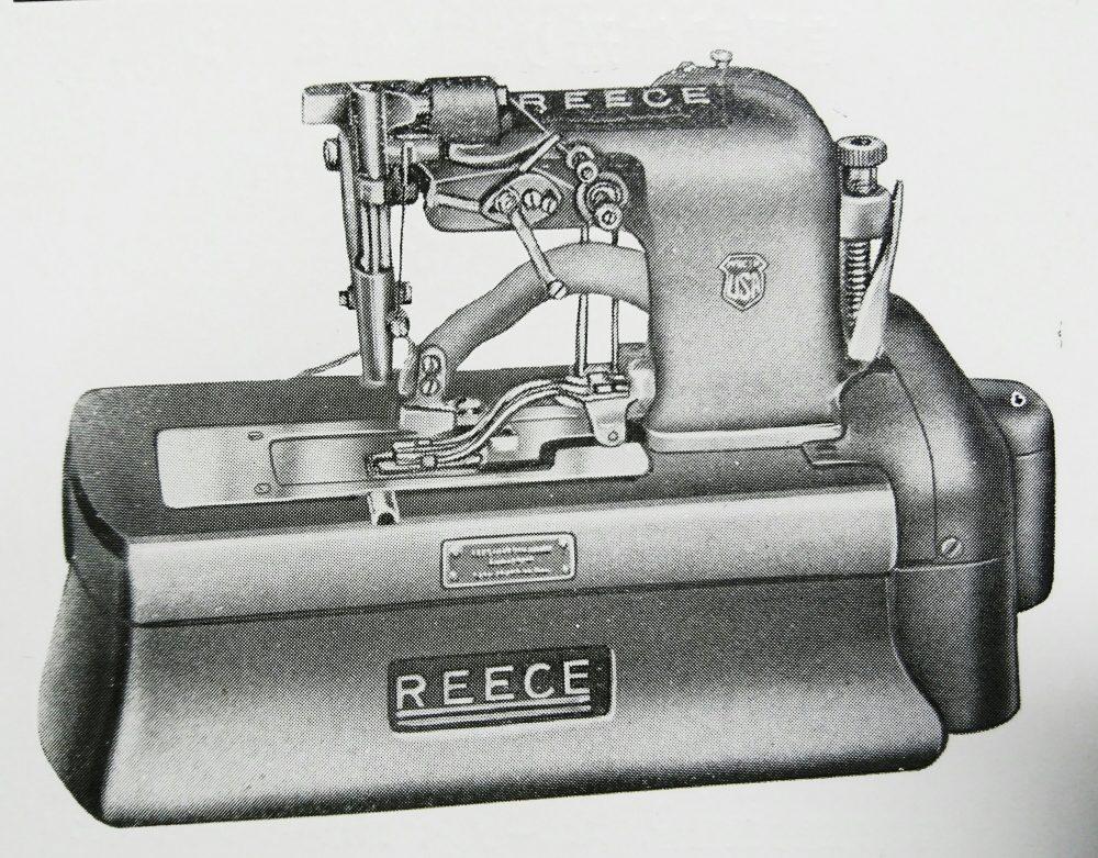 リース・ボタンホール S-2:ボタン穴縢縫ミシン
