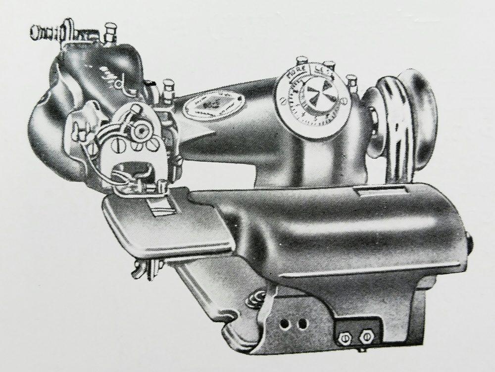 ユーエス・ブラインド・ステッチ 88E:襟縁テープ縫ミシン