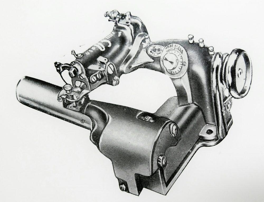 ユーエス・ブラインド・ステッチ 128-S:1本針環縫ミシン