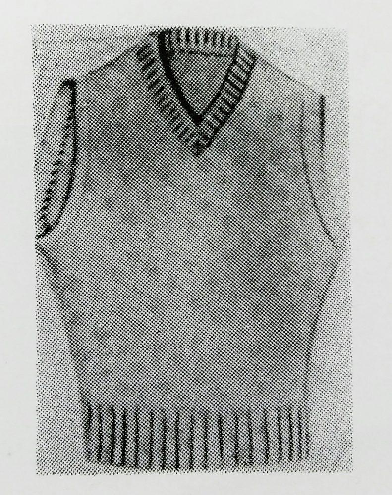 ユーエス・ブラインド・ステッチ 88KS(見返しまつい縫ミシン)の縫見本
