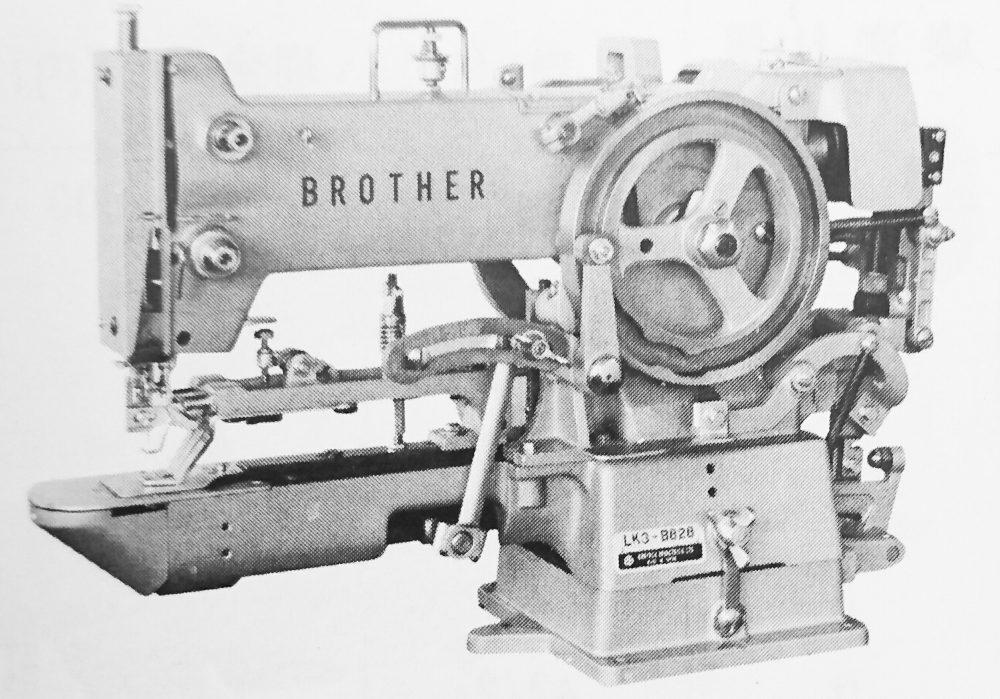 ブラザー LK3-B828(筒型本縫穴閂止ミシン)