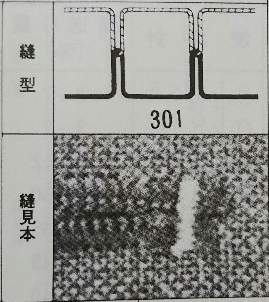 ブラザー LK3-B828(筒型本縫穴閂止ミシン)の縫型・縫見本